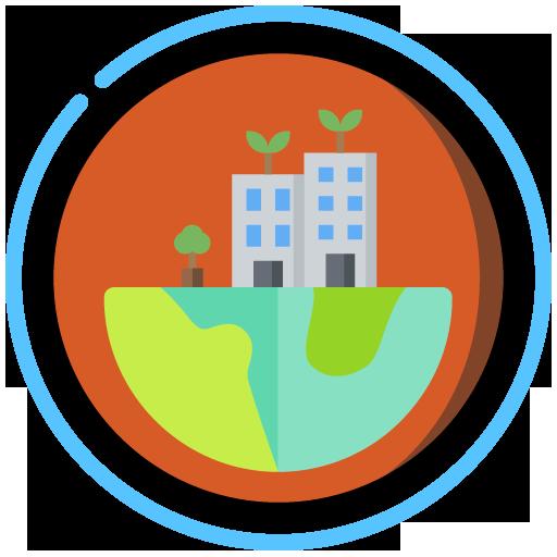 Logo descarbonización UPM