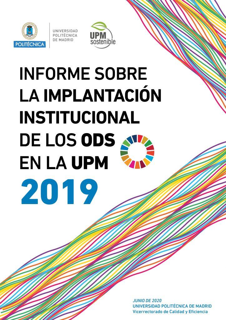 Informe Implantación institucional ODS UPM 2019